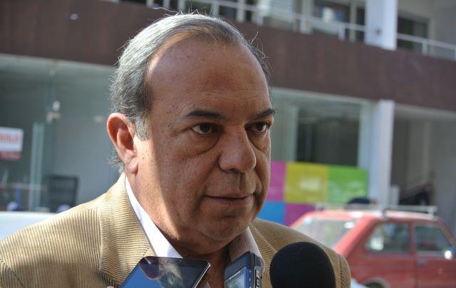 El presidente del Colegio de Abogados de la delegación Carlos Paz, Ricardo Rosales.