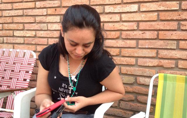Viviana Cabrera se emocionó al resaltar la valentía de su marido.