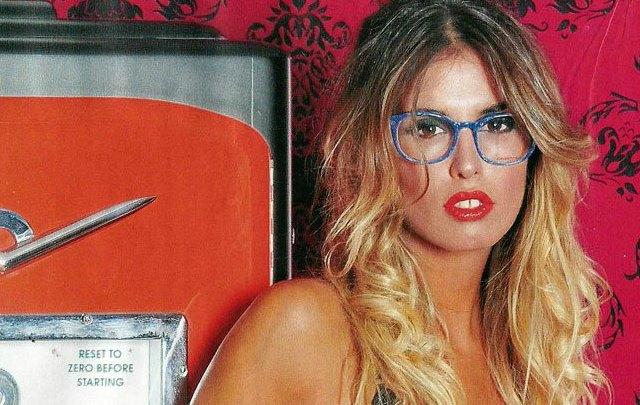 Florencia Cocucci posó para la revista Caras.