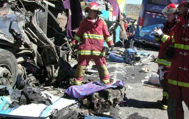 Más de 37 muertos en Perú.