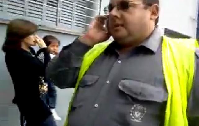 El inspector fue apartado de su cargo de manera preventiva.