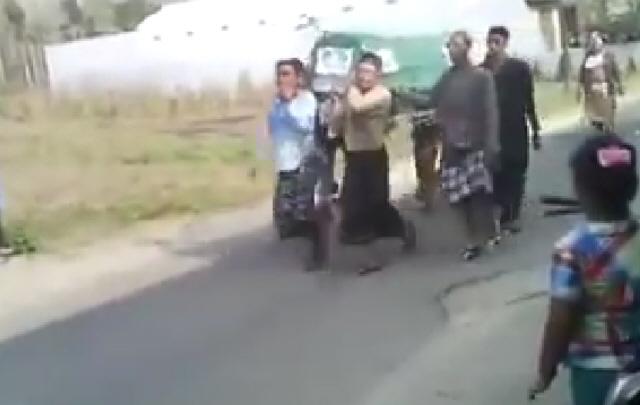 Insólito accidente en un funeral de Tailandia.