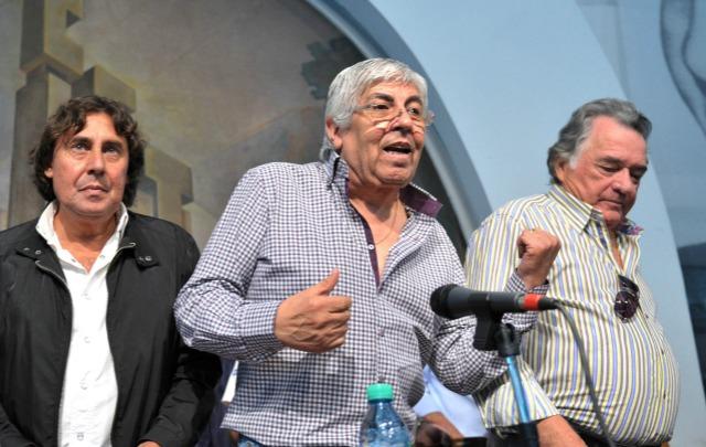 Micheli, Moyano y Barrionuevo harán el segundo paro general a Cristina.