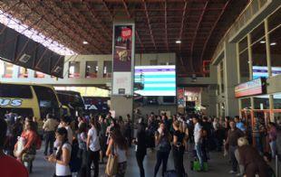 Es intenso el movimiento turístico en la Terminal de Córdoba.