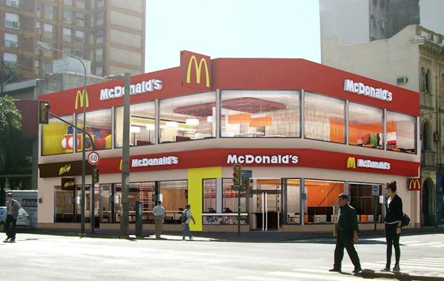 Mc Donalds cierra sus puertas en Rosario, Argentina.