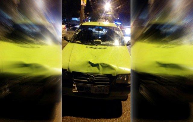 El remis es un Fiat 1. (Foto gentileza de Juan Valor)