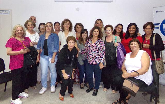 Las miembros de 'Hermanas y madres del alma''. (Foto de Facebook)