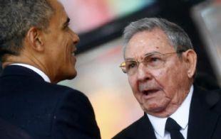 Obama y Raúl Castro retomaron el diálogo entre Estados Unidos y Cuba (Foto: Archivo).