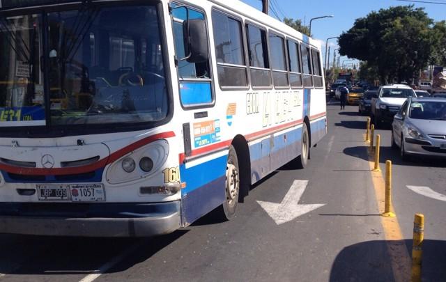 El accidente se produjo en Octavio Pinto y Costanera Norte.