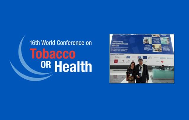 El Doctor Nogales Mendoza en la Conferencia realizada en Emiratos Árabes Unidos.