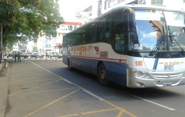El siniestro se registró en la intersección de las avenidas Colón y Avellaneda.
