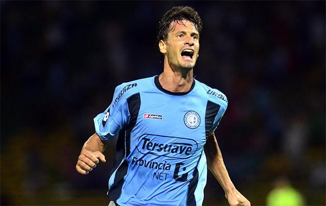 Mauro Óbolo, dueño de un muy buen presente en la ''B''.