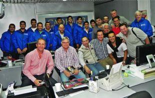El equipo de profesionales que cubrirá la carrera.
