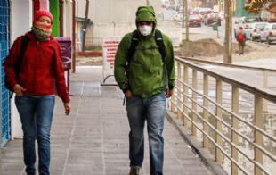 Se recomienda salir a la calle con elementos de protección.