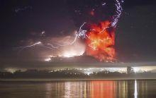 Las cenizas del volcán Calbuco ya llegaron al sur argentino.