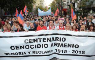 Córdoba conmemoró los 100 años del Genocidio Armenio.