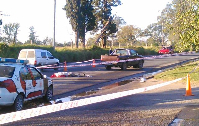 El accidente fatal se registró esta madrugada en Rancagua al 5.000.