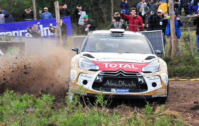 Meeke se impuso en el Rally Mundial Argentina.