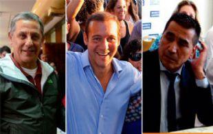 Quiroga, Gutiérrez y Rioseco, los candidatos que se destacan en la contienda.