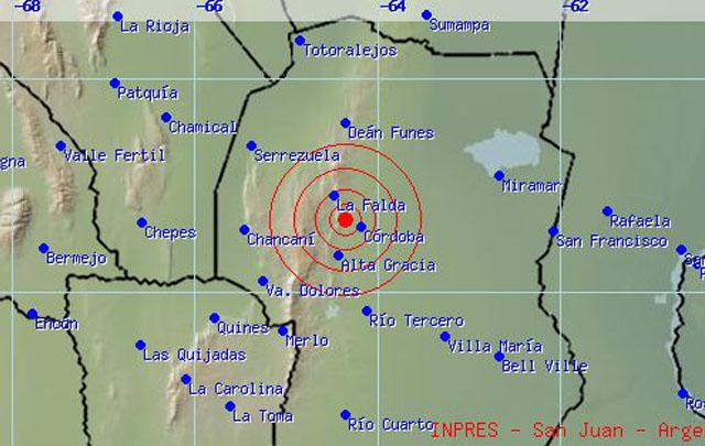 Sismo en Córdoba - Impres