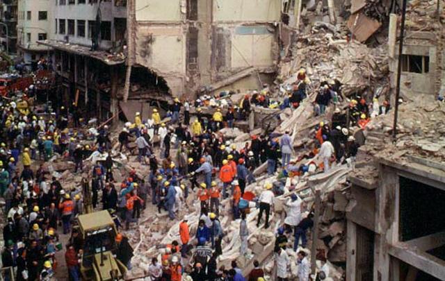 El atentado a la AMIA ocurrió el 18 de julio de 1994.