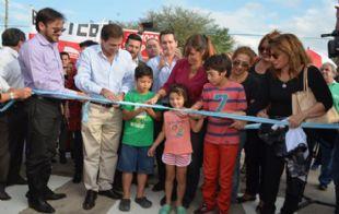 Ramón Mestre inauguró obras en barrio 20 de Junio.
