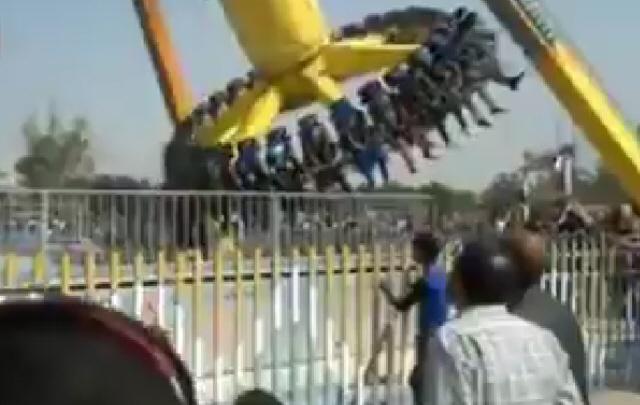 Accidente en un parque de diversiones no dejó muertos de milagro.