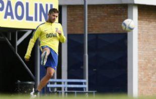 Gago abandonó el entrenamiento (Foto: Archivo)