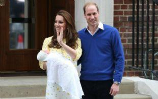 Kate y William presentaron al público a Charlotte Elizabeth Diana.