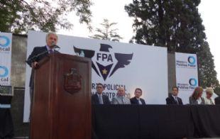 De la Sota lanzó la Policía Antinarcotráfico.