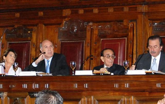 Highton, Lorenzetti, Fayt y Maqueda, actual formación de la Corte.
