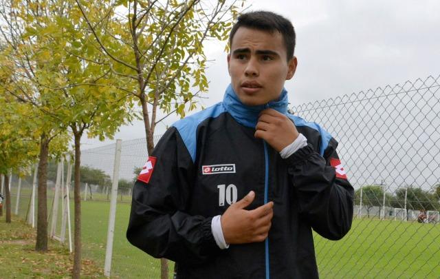 Zelarayán habló de su admiración hacia Lionel Messi.