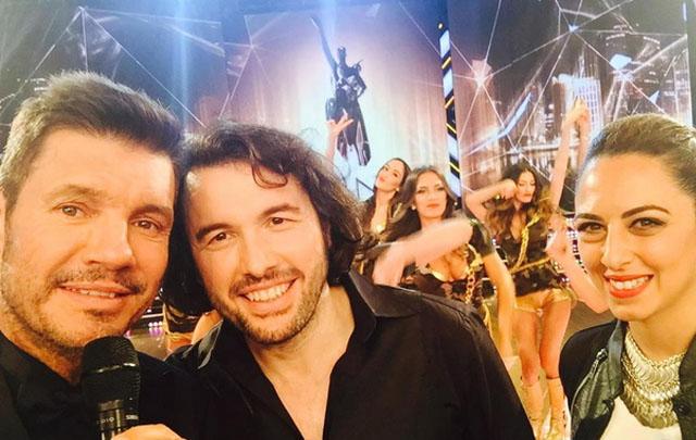 Ergun Demir participó anoche de un tenso cruce con Alberto Samid.