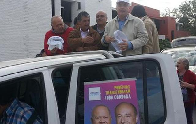 Junto a Cacho Buenaventura, Accastello recorrió Cruz del Eje.