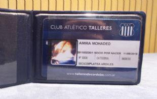 La hija de Geo Monteagudo ya es socia de Talleres.