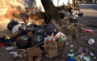 Hace días se registraron problemas de recolección en Alta Córdoba.