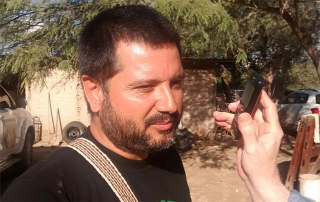 Jorge Rojas es uno de los impulsores de la Fiesta de la Cultura Nativa.