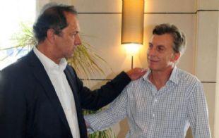 Scioli dijo que si disputa es con Macri.