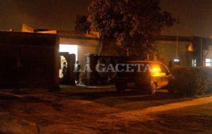 El domicilio donde se produjo el trágico hecho (Foto: Gentileza La Gaceta)
