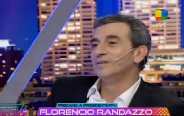 ''No hay que ser hipócrita'', dijo Florencio Randazzo en Animales Sueltos.