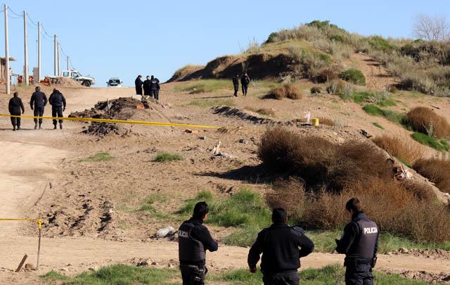 El cuerpo de Catherine fue encontrado sepultado en los médanos.