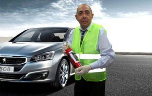 Mario Pereyra, el conductor más seguro del mundo (Fotomontaje: Juan Blondont)