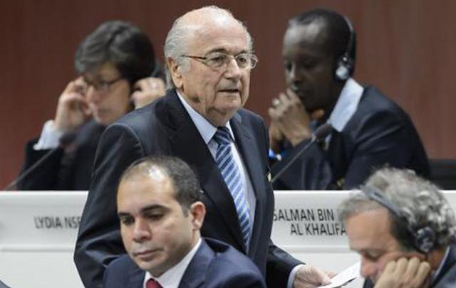 Blatter, en la apertura hoy del 65º Congreso de FIFA.