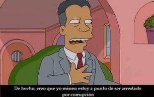 Los Simpsons predijeron el escándalo.