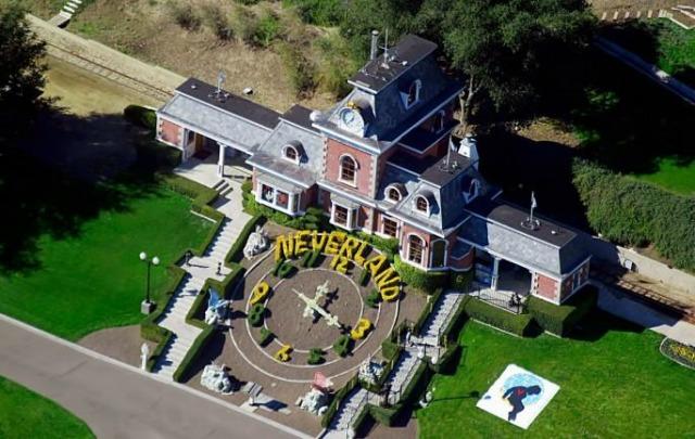 Neverland fue valuada en 100 millones de dólares.