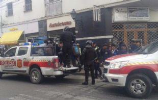 La policía detuvo a casi 50 estudiantes de tres colegios (Foto: Informate Salta)