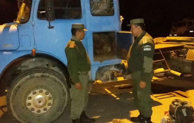 Gendarmería detuvo a los delincuentes en General Pinedo.