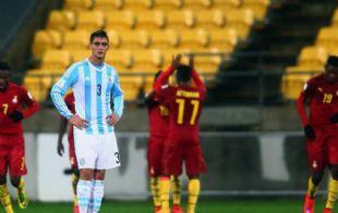 Los africanos fueron superiores al seleccionado argentino.