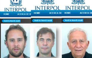 Estos son los argentinos buscados por la Interpol.