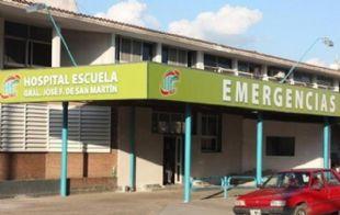La mujer estaba internada en el Hospital Escuela de Corrientes (Foto: Archivo)